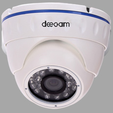 720P Indoor Dome 24pcs IR LED network IP camera