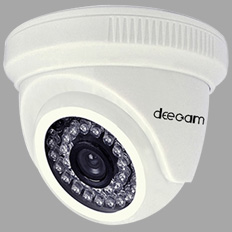 AHD 1.0MP High Resolution IR Dome CCTV camera